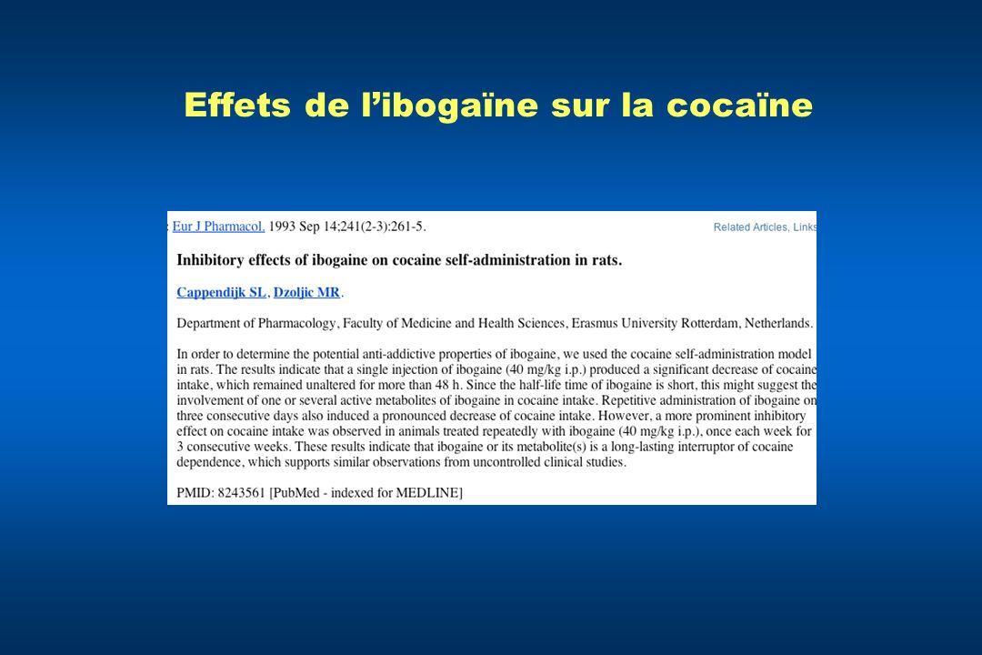 Effets de libogaïne sur la cocaïne