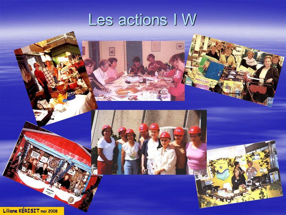 Liliane KÉRISIT mai 2008 Les actions I W