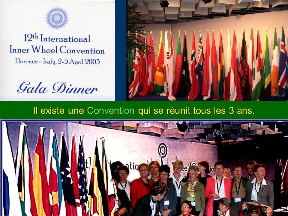 Il existe une Convention qui se réunit tous les 3 ans.
