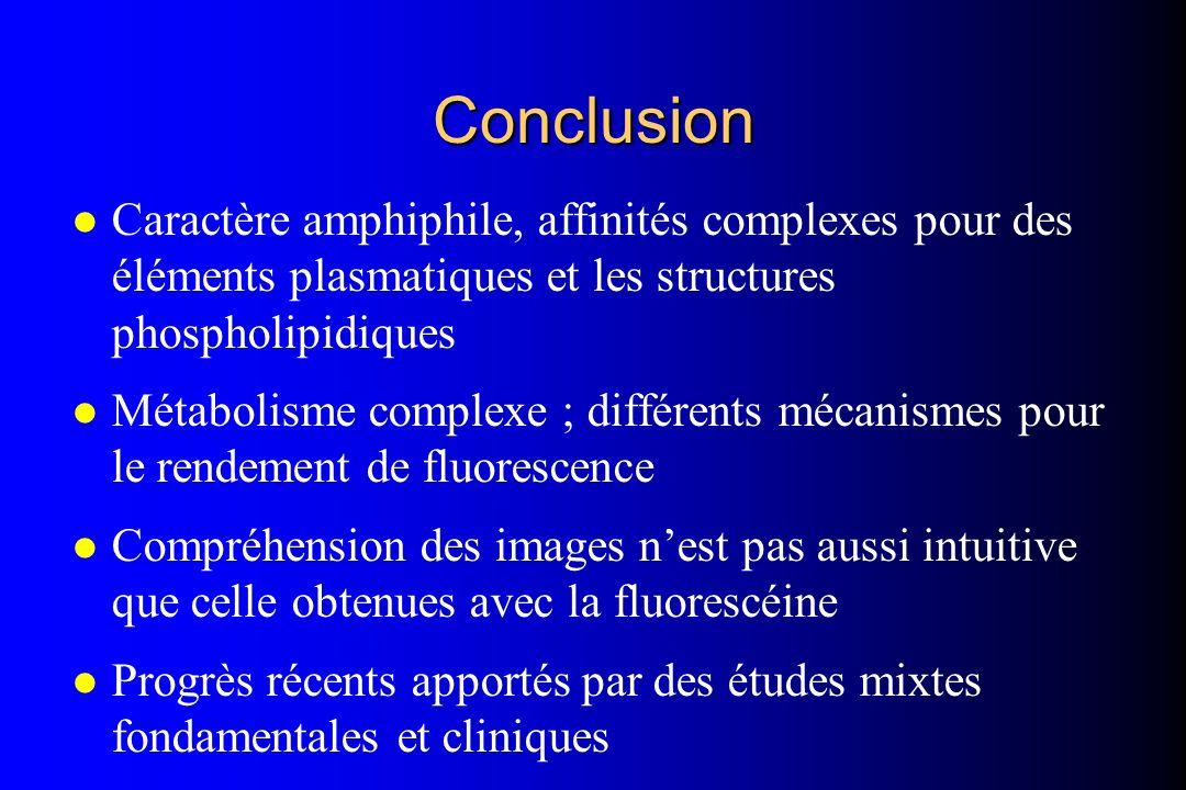 l Caractère amphiphile, affinités complexes pour des éléments plasmatiques et les structures phospholipidiques l Métabolisme complexe ; différents méc