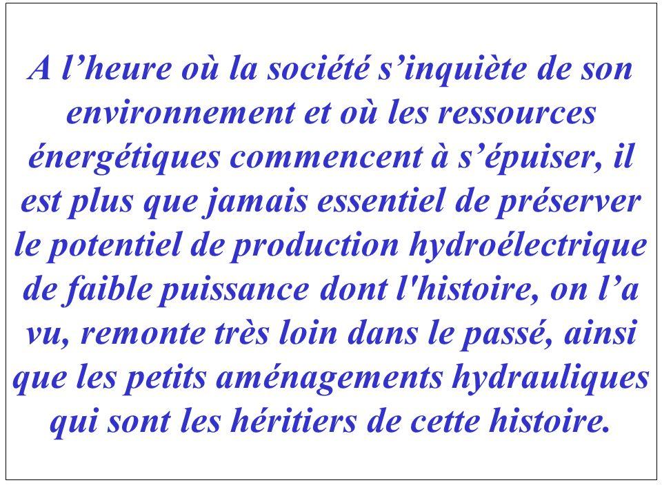 A lheure où la société sinquiète de son environnement et où les ressources énergétiques commencent à sépuiser, il est plus que jamais essentiel de pré