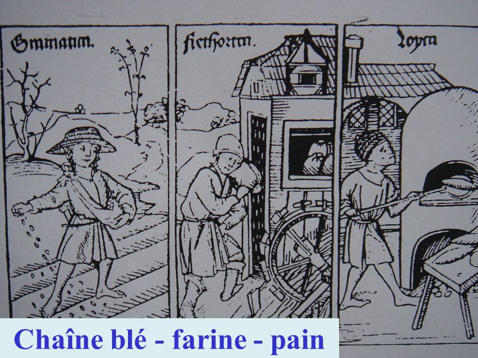 Origines de la roue verticale par en dessous Description technique par Vitruve – Ingénieur romain – 25 av.