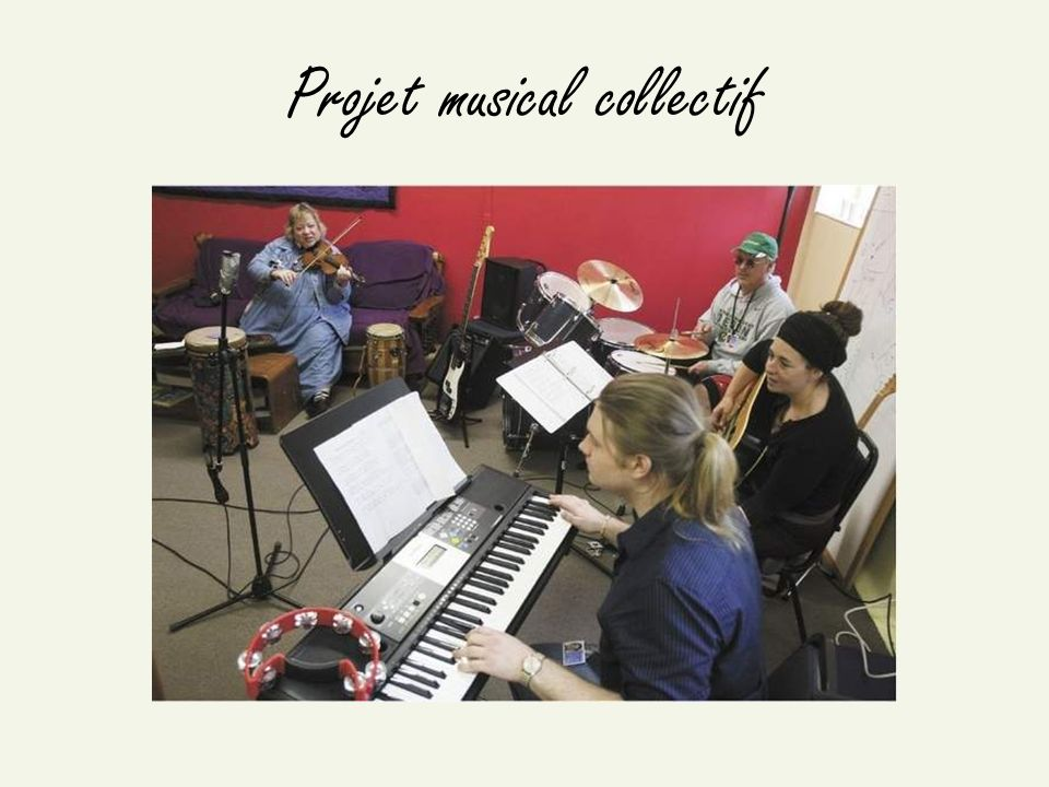 Projet musical collectif