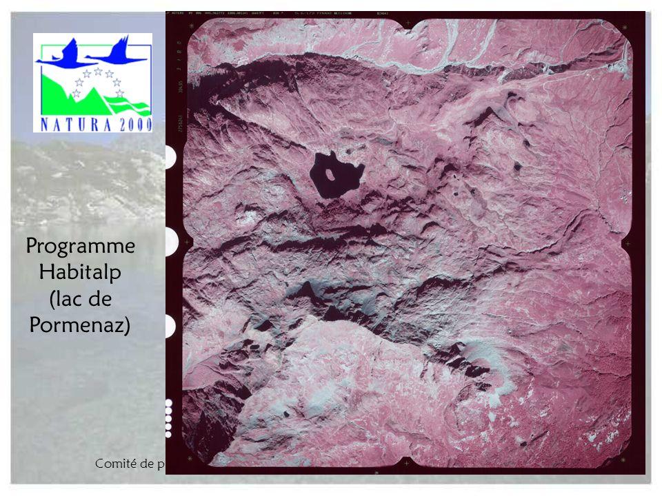 Comité de pilotage Natura 2000 Arve-Giffre - 22 juin 2004 - ASTERS16 Programme Habitalp (lac de Pormenaz)