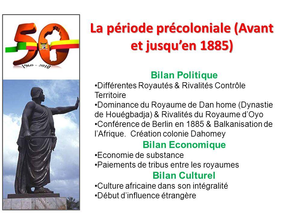 Plan 1.Période Précoloniale (Avant 1885) 2.Période Coloniale (1885-1960) 3.Période Néocoloniale (1960-1990) 4.Période Démocratique (1990-..) 5.Rôle de
