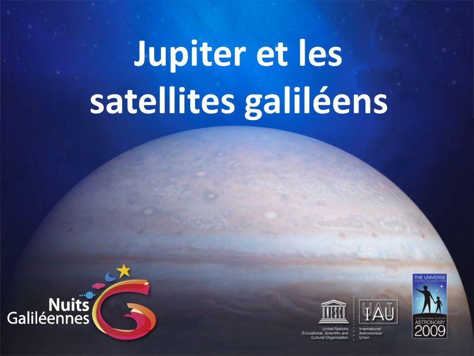 Les satellites galiléens: Ganymède Ganymède est le troisième satellite de Jupiter.
