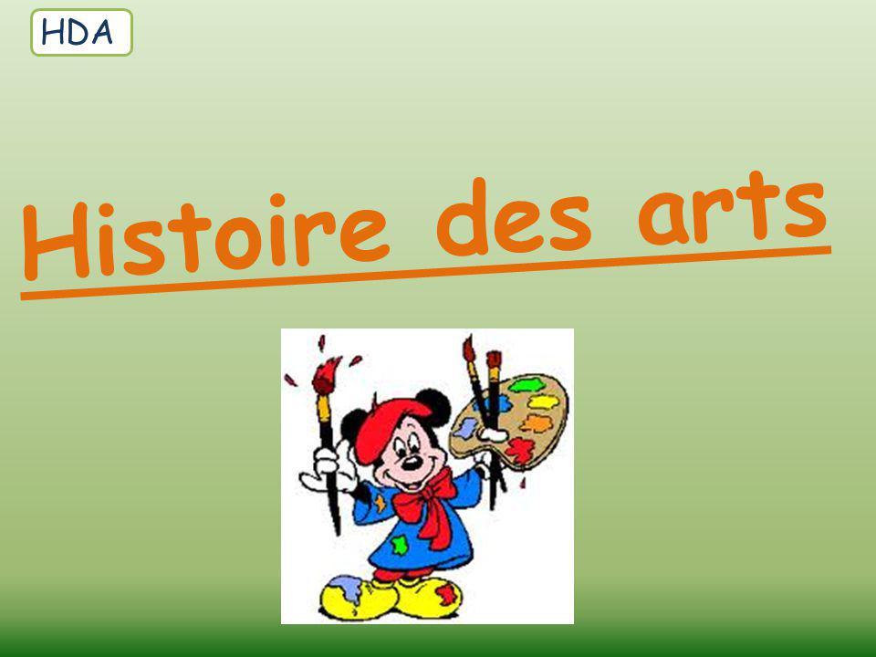 Histoire des arts HDA