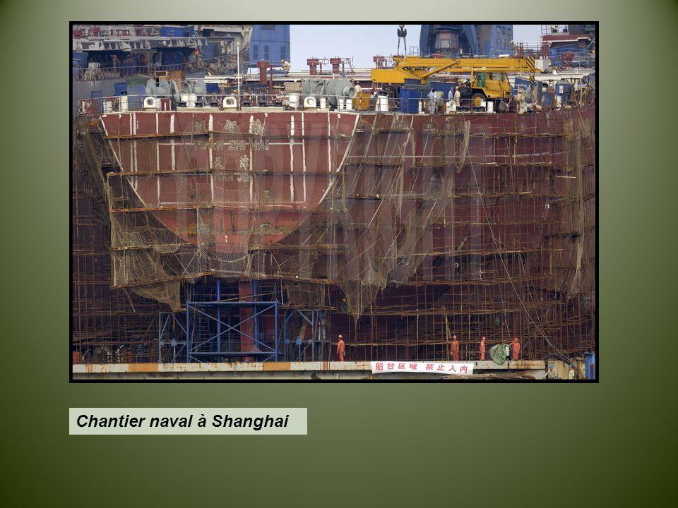 Chantier naval à Shanghai