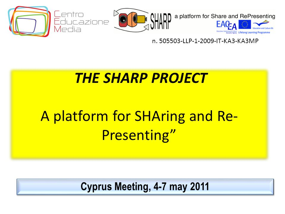 The workshops The workshops n.