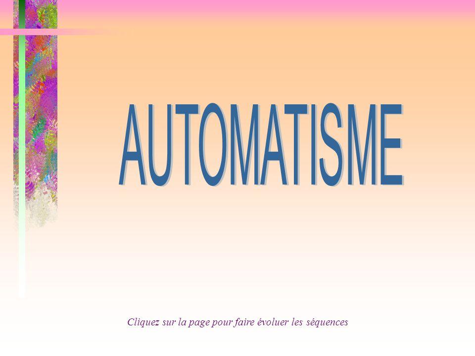 3 - Partie commande, partie opérative 2 - Exemple de système 5 - Capteurs 4 - Actionneurs 8 - Le Grafcet 6 -Description d'un Système automatisé 1 - Les systèmes automatisés 7 - L 'Organigramme 9 - Questionnaire
