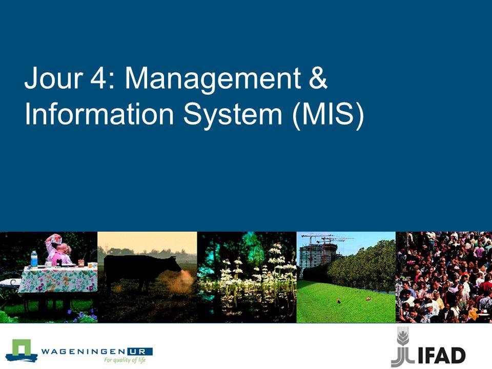 Jour 4: Management & Information System (MIS)