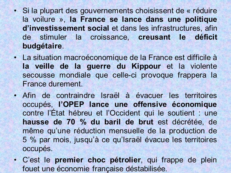 Si la plupart des gouvernements choisissent de « réduire la voilure », la France se lance dans une politique d'investissement social et dans les infra