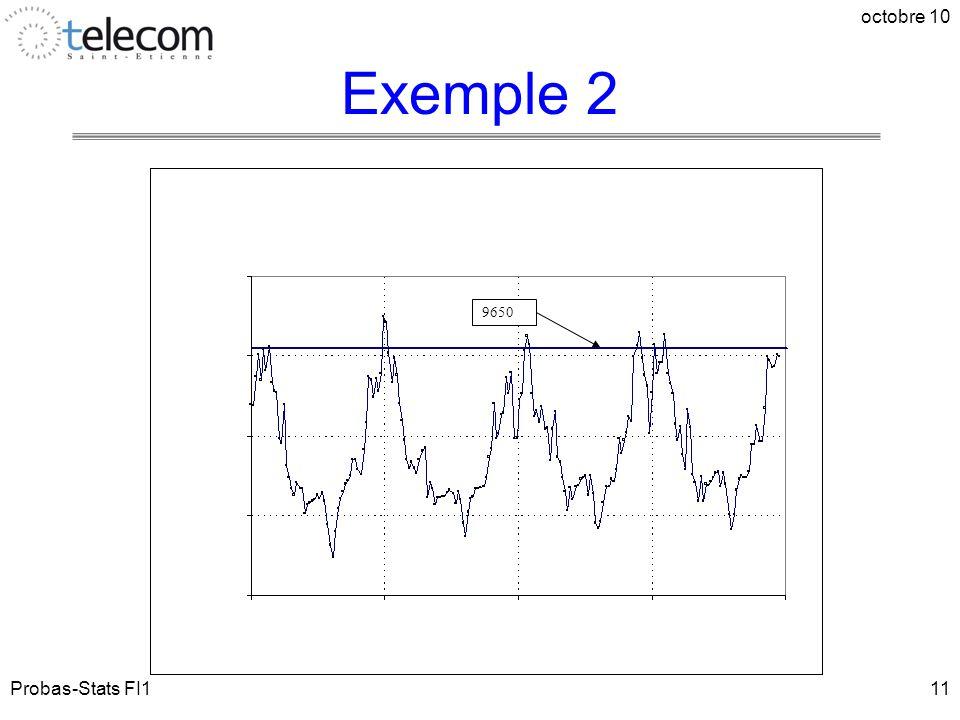 Probas-Stats FI1 octobre 10 11 9650 Exemple 2