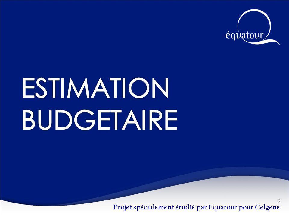 Projet spécialement étudié par Equatour pour Celgene 9