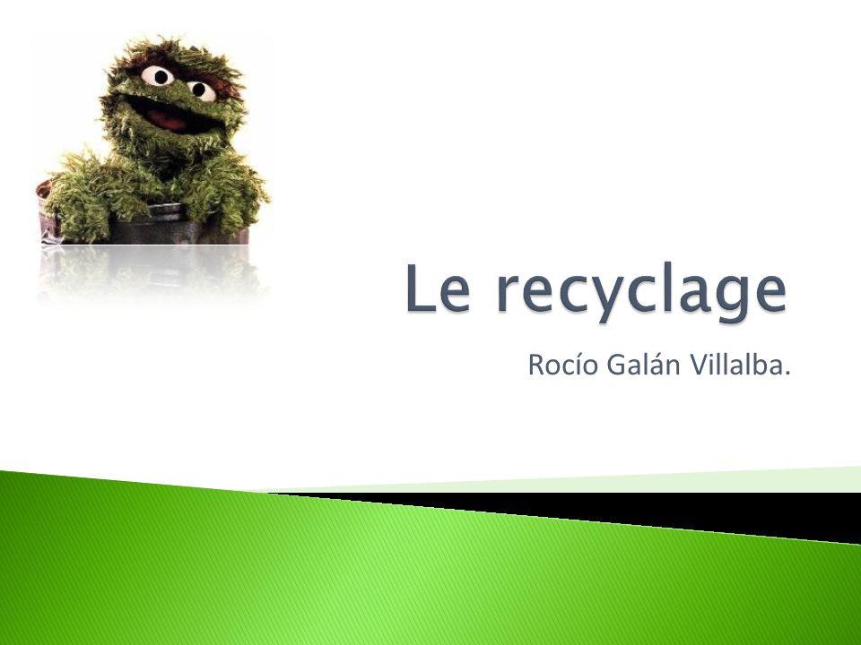  Le recyclage est un procédé de traitement des déchets qui permet de réintroduire, dans le cycle de production d'un produit, des matériaux qui composaient un produit similaire arrivé en fin de vie, ou des résidus de fabrication.