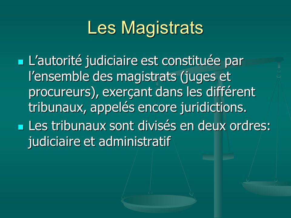 Le Conseil supérieur de la magistrature Le PDR est garant de l'indépendance de l'autorité judiciaire.