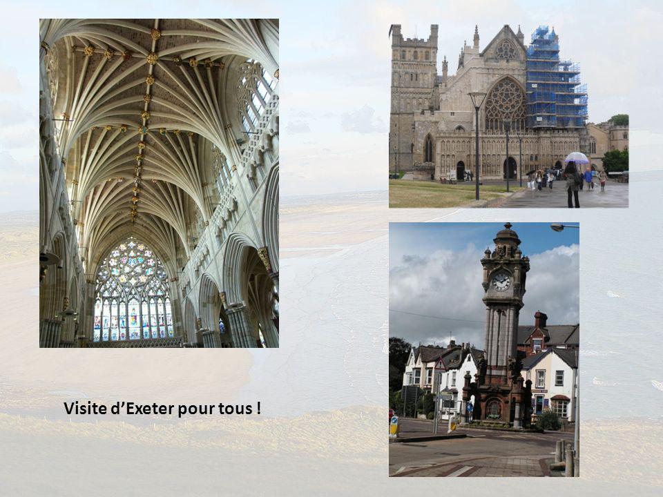 Visite d'Exeter pour tous !