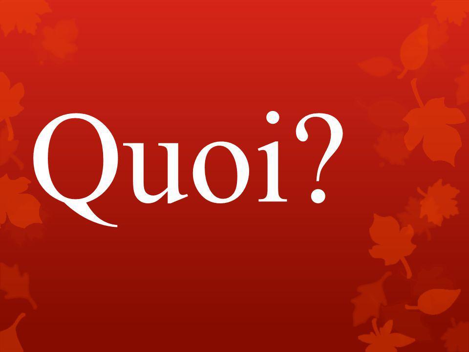Question #1  Oui, les droits canadienne ont une signifiance historique.