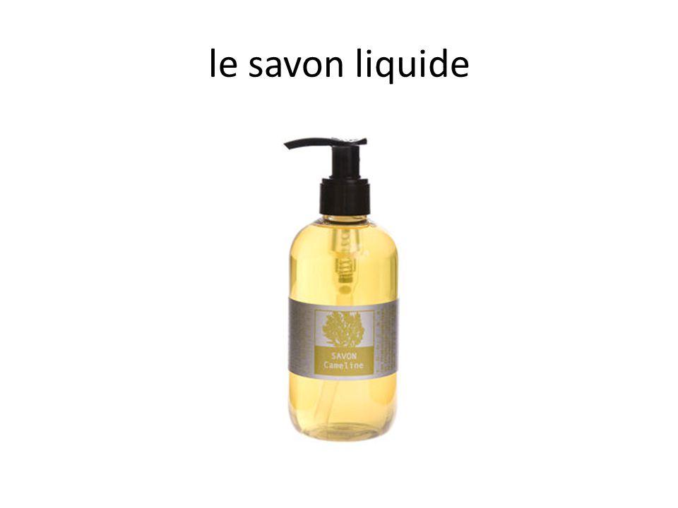 le savon liquide