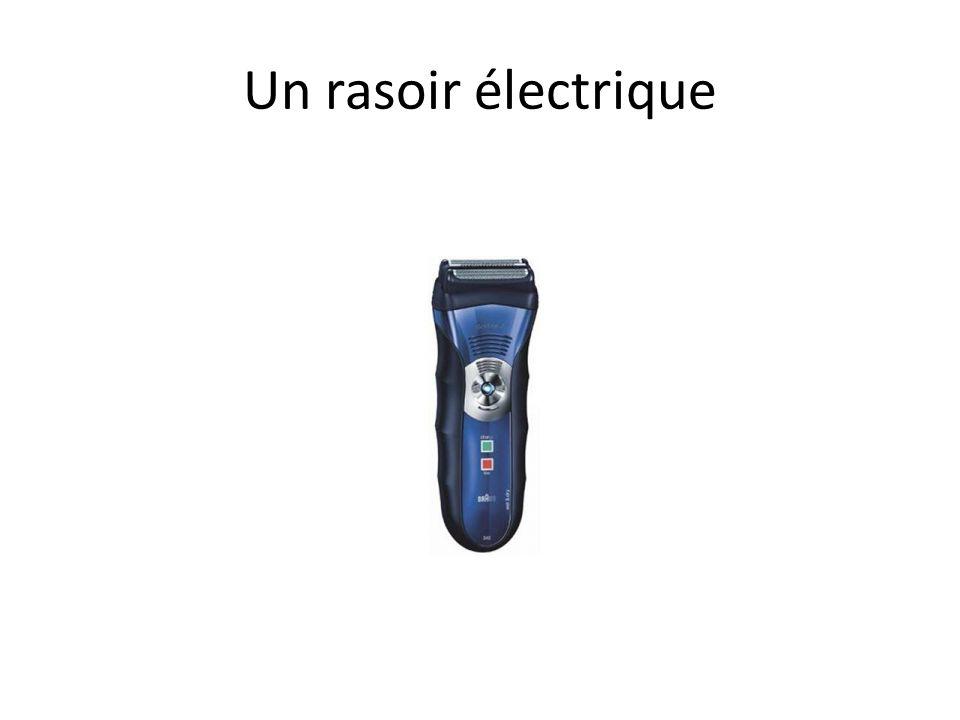 Un rasoir électrique