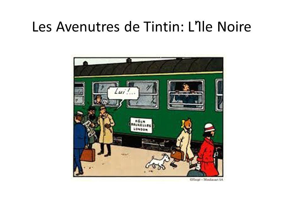 Les Avenutres de Tintin: L Île Noire