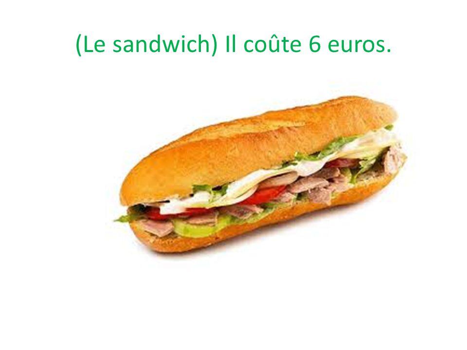 Il coûte 6 euros.