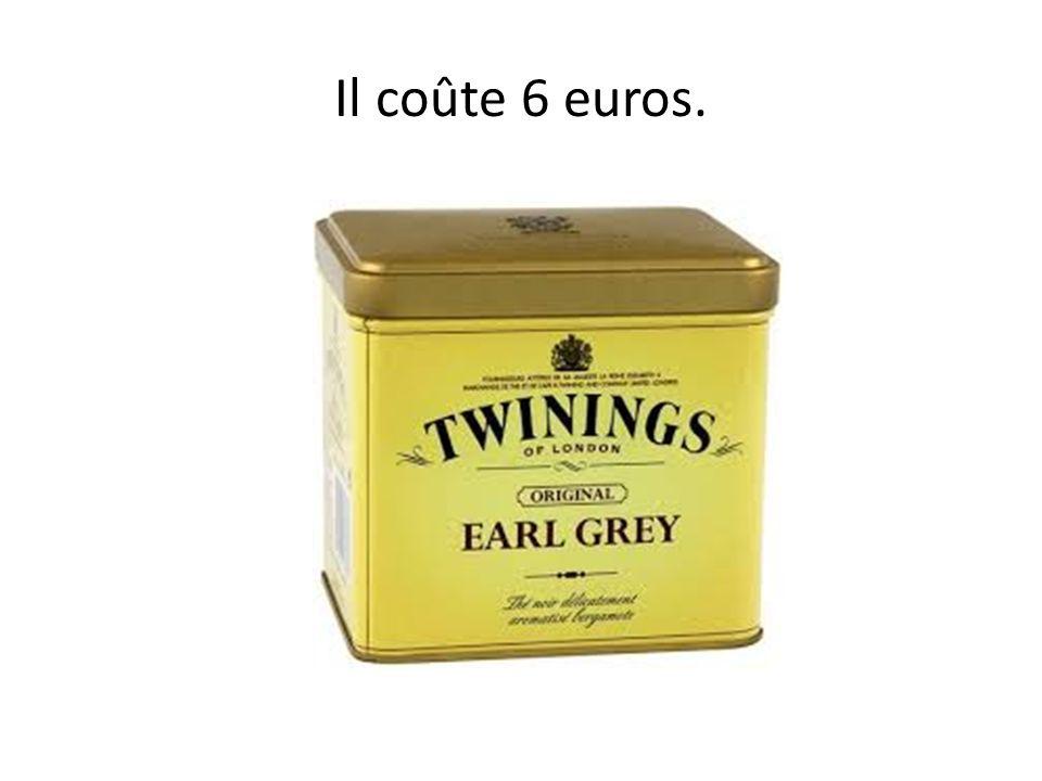 Combien coûte le thé