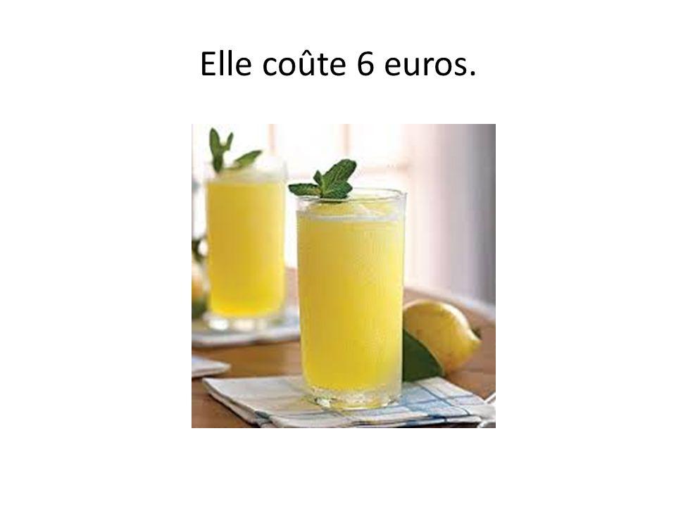 Combien coûte la limonade