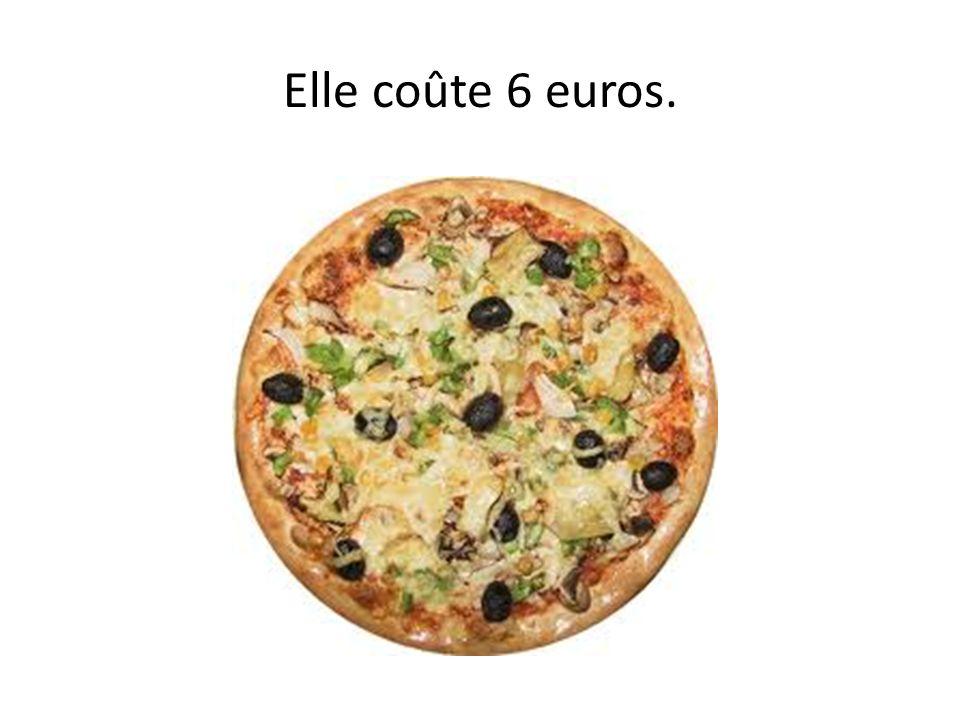 Combien coûte la pizza