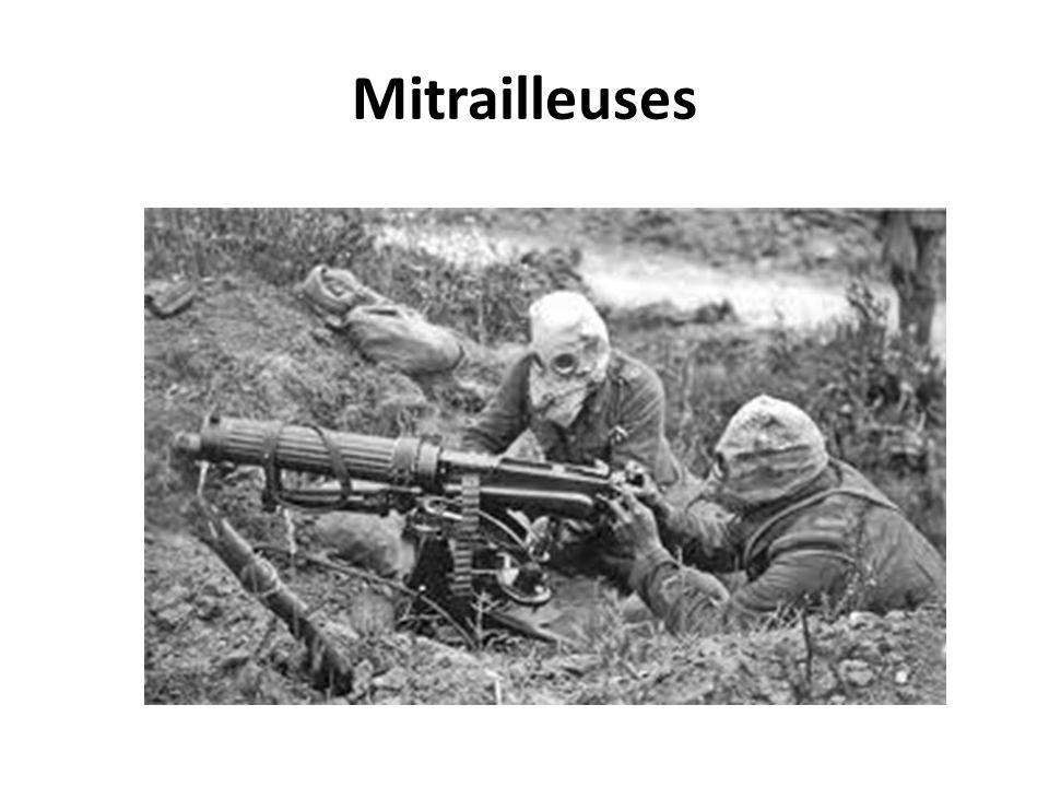 Mitrailleuses