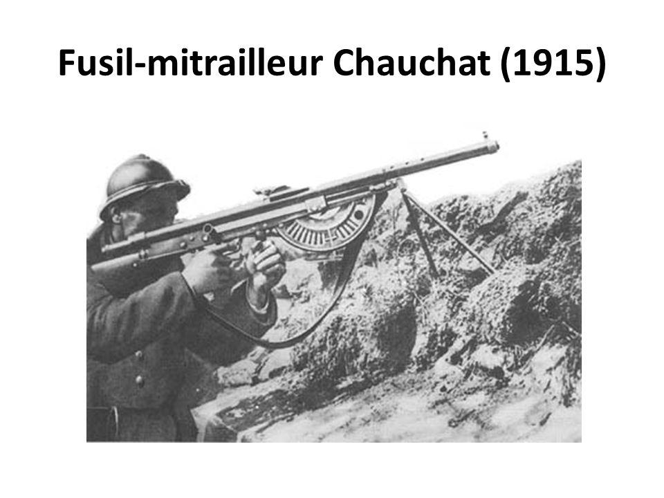 Fusil-mitrailleur Chauchat (1915)