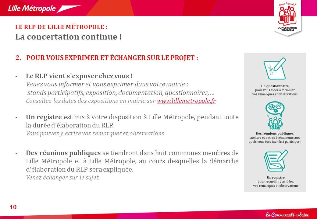 10 -Le RLP vient s'exposer chez vous ! Venez vous informer et vous exprimer dans votre mairie : stands participatifs, exposition, documentation, quest