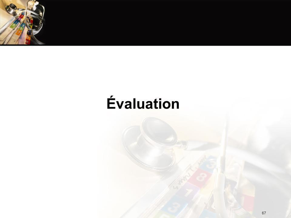 Évaluation 67
