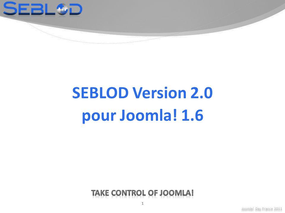 Joomla! Day France 2011 32 Addon WebService