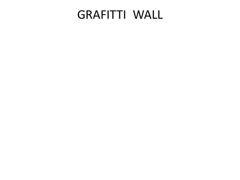 GRAFITTI WALL