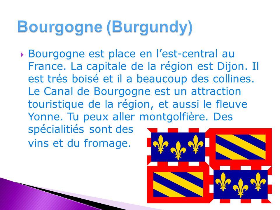  Bourgogne est place en l'est-central au France. La capitale de la région est Dijon.