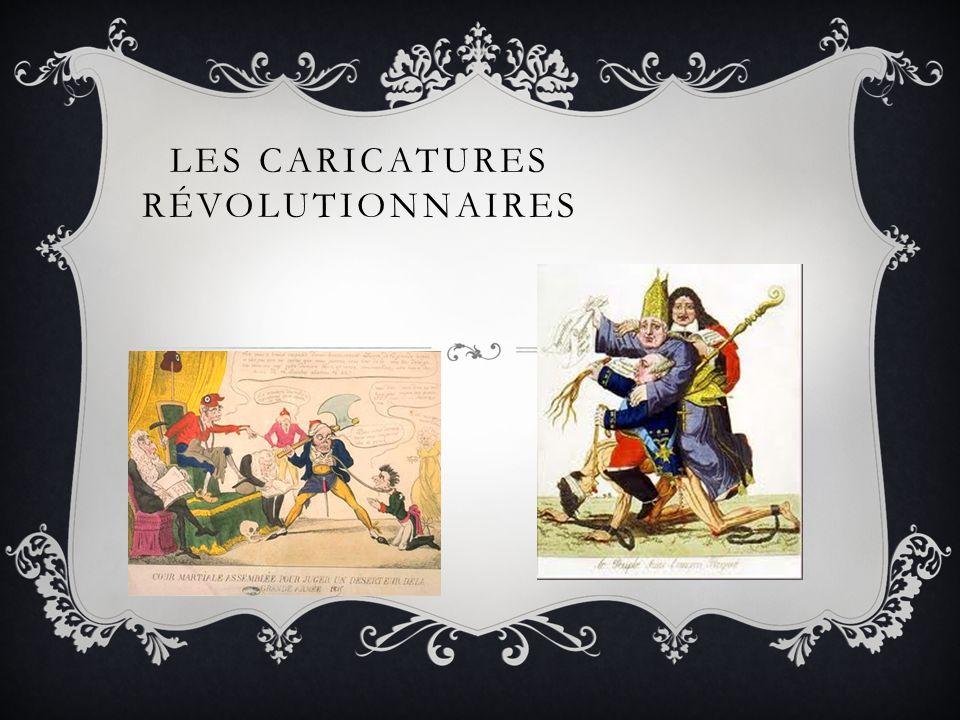 LES CARICATURES RÉVOLUTIONNAIRES