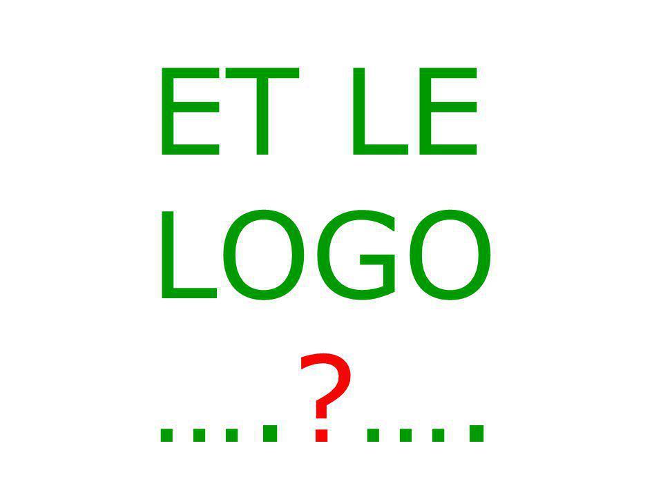 ET LE LOGO ….?….