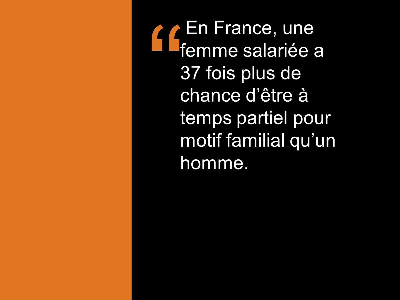 ' Les femmes actives perçoivent un revenu 27% moins élevé que celui des hommes.