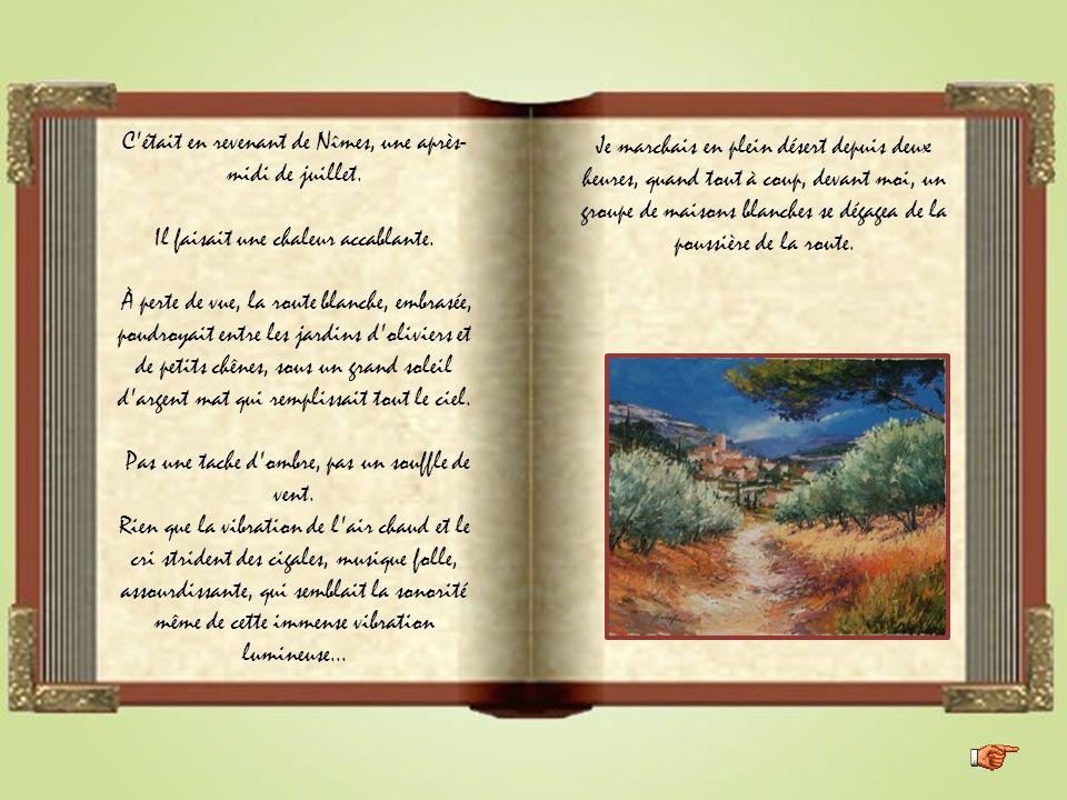Cette lettre d' Alphonse Daudet, est diffusée en mode manuel. Pour vous permettre de suivre le fil du conteur, en l'occurrence Fernandel, nous vous co