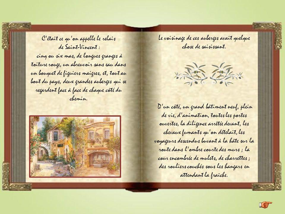 Iconographies du net Les lettres de mon moulin d'Alphonse Daudet « Les deux auberges ».