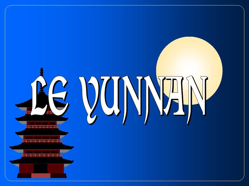 Le Yunnan est aussi une mosaïque de peuples.On y trouve plus de 35 nationalités différentes.