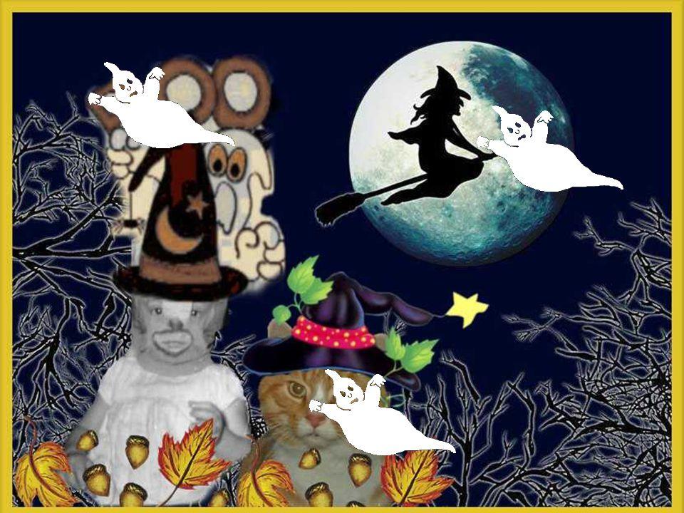 Squelettes, fantômes, monstres terrifiants, eux aussi transformés en elfs malicieux, en anges bienveillants Tout serait harmonie, douceur, joie et beauté.