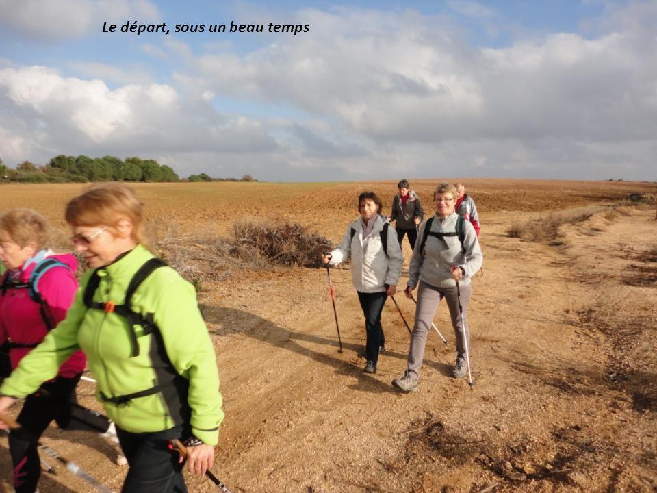 Lundi 23 12 2013, 8 Marcheurs « courageux » pour la Randonnée: Saint Jean De La Cavalerie, prés de « CERS »