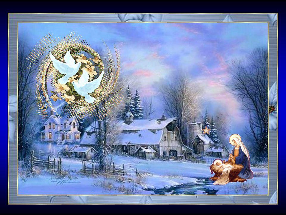 Faites-moi un cadeau Père Noël pour cette année, Que le monde soit différent, tous les enfants heureux.