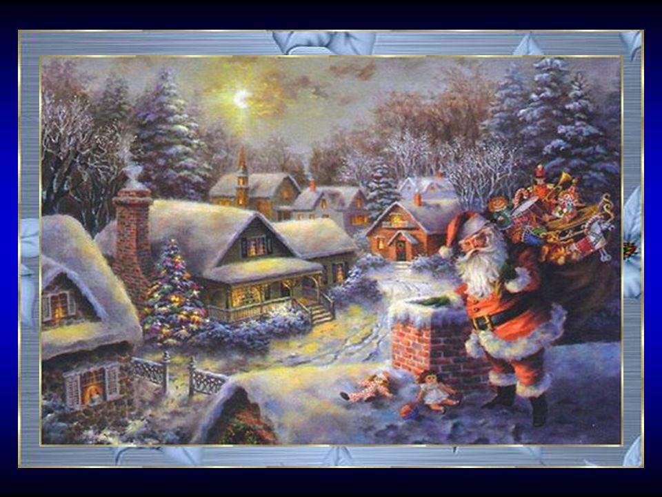 Pour fêter Noël en harmonie Les familles se retrouvent, unies Oubliées les rancoeurs ou divisions Seule compte la naissance d'un Enfant