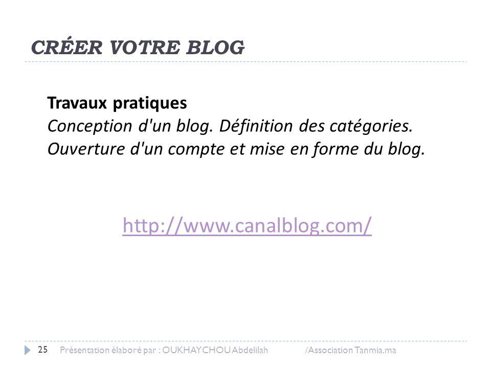 Diffuser sur son blog Rédaction, Mise en forme et Publication du billet.