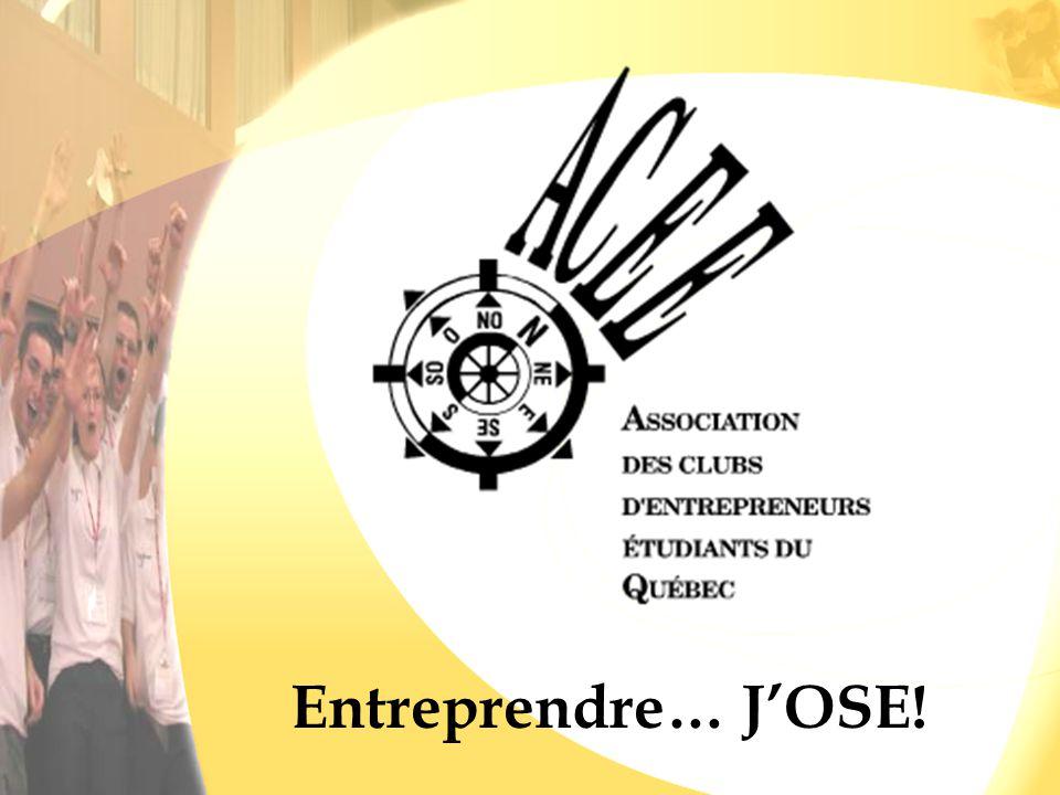 Entreprendre… J'OSE!