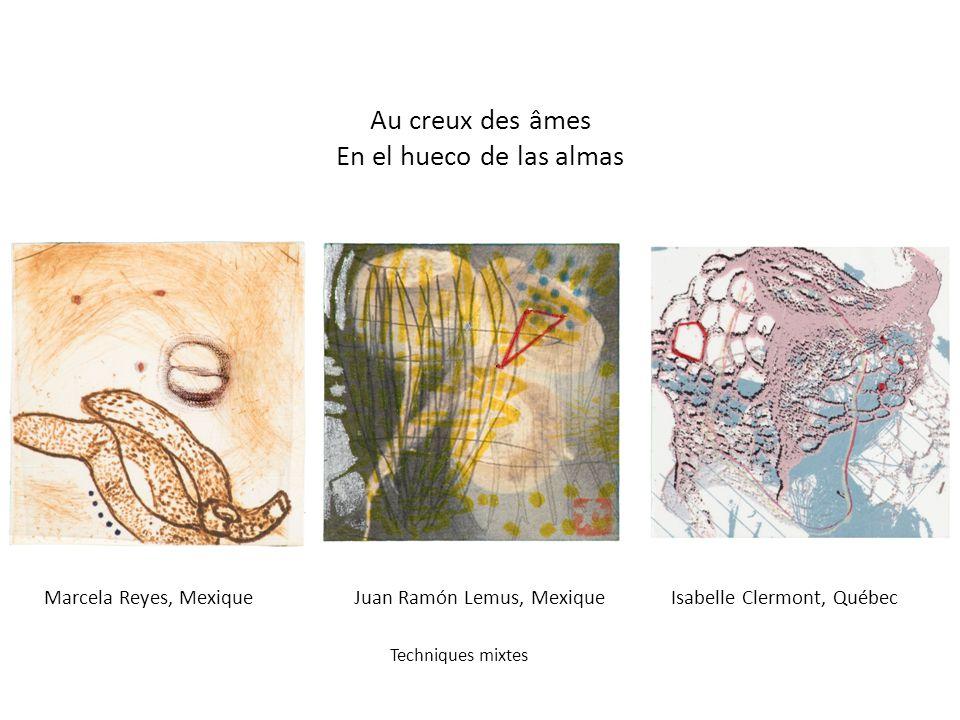 René Weling, Belgique Eau-forte José Antonio Platas, Mexique Linogravure Mylène Gervais, Québec Sérigraphie Trois petits cochons