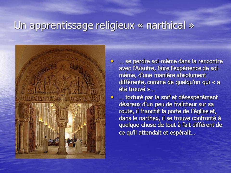 Implications pour l'éducation religieuse –l'éducation religieuse contemporaine aura-t-elle le courage de cultiver cet espace de désir existentiel .